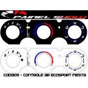 Acetato de Controle de Ar Ventilação Pelicula - Fiesta G2 Ecosport - cod909