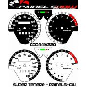Super Tenere Cod441v220 Mostrador Translucido P/ Painel + Led