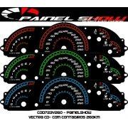 Vectra Gls Cod723v260 Acetato Translucido Painel Show