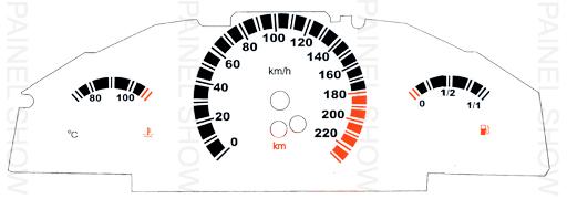 Adesivo p/ Painel - Cod112v220 - Astra / Zafira  - PAINEL SHOW TUNING - Personalização de Painéis de Carros e Motos