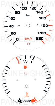 Adesivo p/ Painel - Cod68v220 - Del Rey  - PAINEL SHOW TUNING - Personalização de Painéis de Carros e Motos