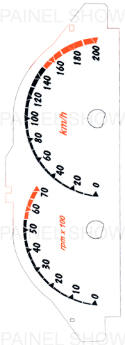 Kit Neon p/ Painel - Cod116v200 - Celta até 2006  - PAINEL SHOW TUNING - Personalização de Painéis de Carros e Motos