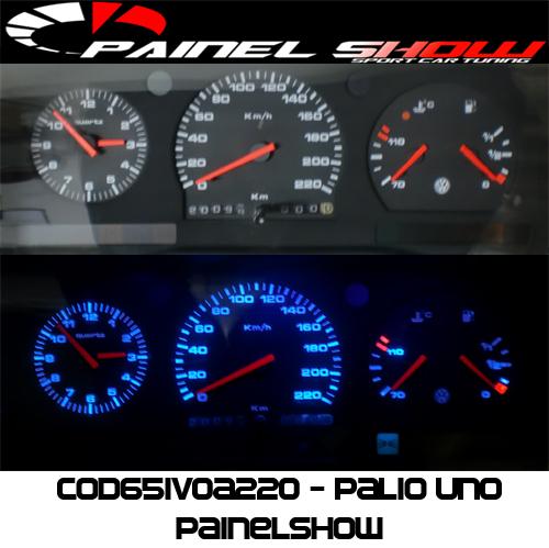 Kit Translúcido p/ Painel - Cod651v0a220 - Logus Pointer  - PAINEL SHOW TUNING - Personalização de Painéis de Carros e Motos