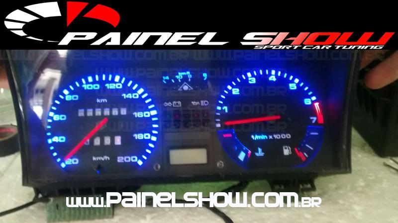 Kit Translúcido p/ Painel - Cod542v200 VW - Gol Parati Santana Passat  - PAINEL SHOW TUNING - Personalização de Painéis de Carros e Motos