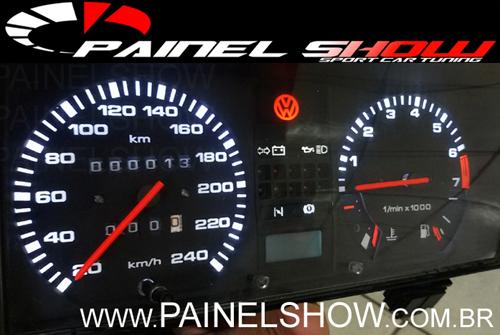 Kit Translúcido p/ Painel - Cod543v220 GTS - Gol Passat  - PAINEL SHOW TUNING - Personalização de Painéis de Carros e Motos