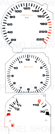 X Kit Neon p/ Painel - Cod40v220 - Santana / Quantum  - PAINEL SHOW TUNING - Personalização de Painéis de Carros e Motos