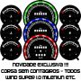 Kit Translúcido p/ Painel - Cod607v200 - Corsa sem Contagiros