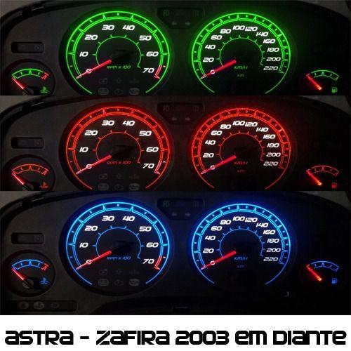 Acetato Translúcido p/ Painel - Cod664v220 - Astra ou Zafira de 2004 em diante - Ref 664  - PAINEL SHOW TUNING - Personalização de Painéis de Carros e Motos
