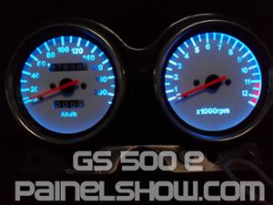 Kit Acrilico p/ Painel - Cod408v200 - GS500 E Suzuki  - PAINEL SHOW TUNING - Personalização de Painéis de Carros e Motos