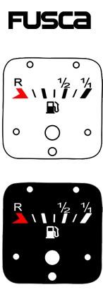Kit Translúcido p/ Painel - Cod567v160 - Fusca até 160km/h  - PAINEL SHOW TUNING - Personalização de Painéis de Carros e Motos