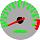 Cor 264 Fundo Prata - Nº Verde - Detalhe Vermelho