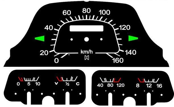 Kit Translúcido p/ Painel - Cod561v160 - Toyota Bandeirantes  - PAINEL SHOW TUNING - Personalização de Painéis de Carros e Motos