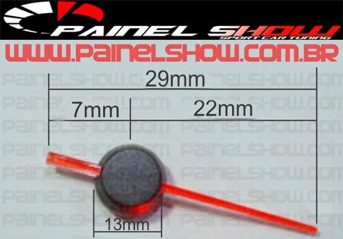 Ponteiro Acrilico 22mm  - PAINEL SHOW TUNING - Personalização de Painéis de Carros e Motos