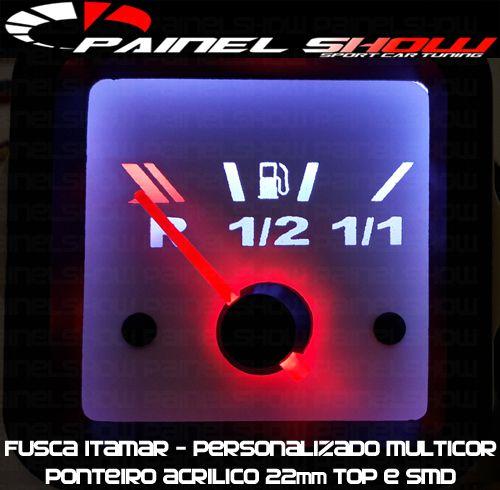 Ponteiro Acrilico 22mm Top Pequeno  - PAINEL SHOW TUNING - Personalização de Painéis de Carros e Motos