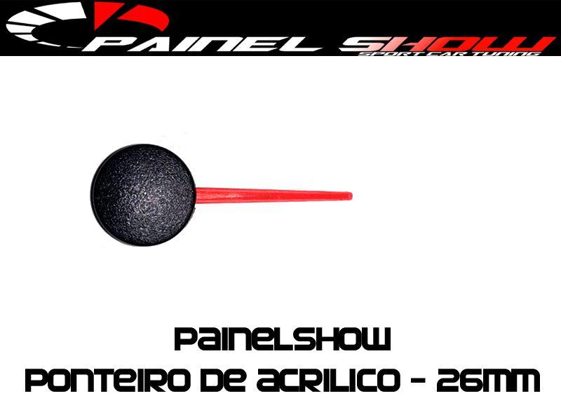 Ponteiro Acrilico 26mm   - PAINEL SHOW TUNING - Personalização de Painéis de Carros e Motos