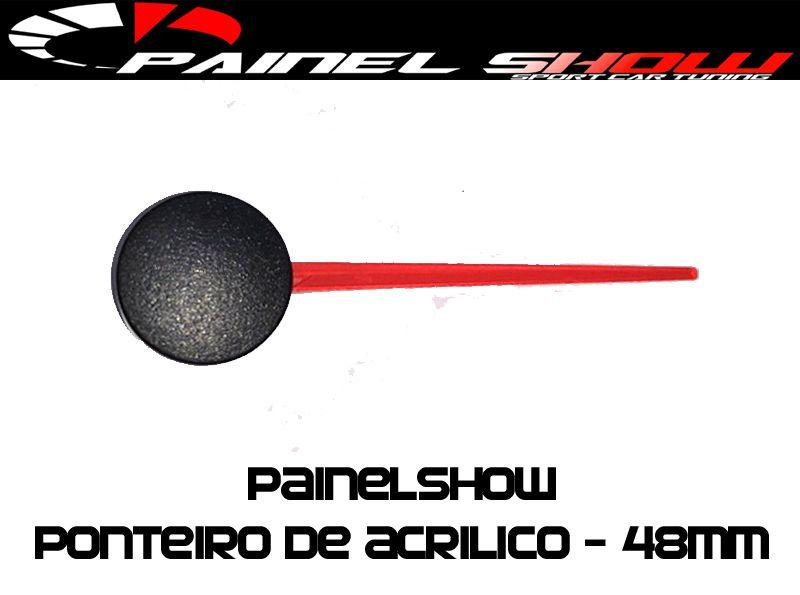 Ponteiro Acrilico 48mm   - PAINEL SHOW TUNING - Personalização de Painéis de Carros e Motos