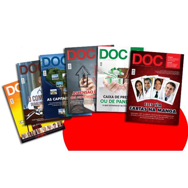 Assinatura Revista DOC 06 Edições  - DOC Content Webstore