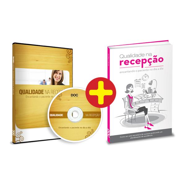 DVD + Livro ´Qualidade na Recepção´  - DOC Content Webstore