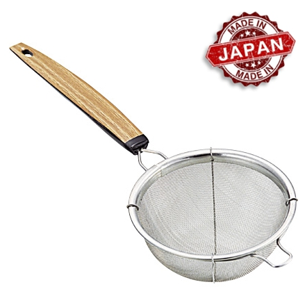 Coador de Chá Inox Trama Super Fina 7,5 x 21 cm