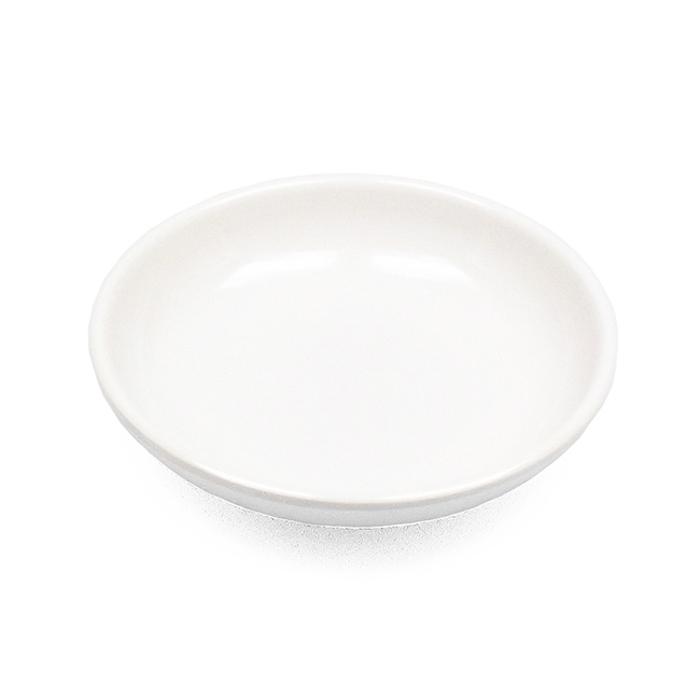 Molheira Nozoki Redonda Melamina Branca 8,5 cm