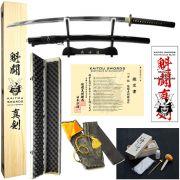 Espada Kaitou Shinken Last Samurai T10 + kit de acessórios