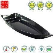 Barco Polímero de Policarbonato Preto 39 x 16 cm - 1.200 ml