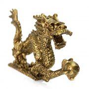Dragão Dourado 10 x 6 cm