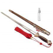 Espada Tai Chi Jian San Feng Lâmina Semi-flexível Treino + Lubrificante