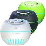 Umidificador de Ar Ultrassônico Melon Multifunção 3 unidades Branco, Verde Musgo e Verde