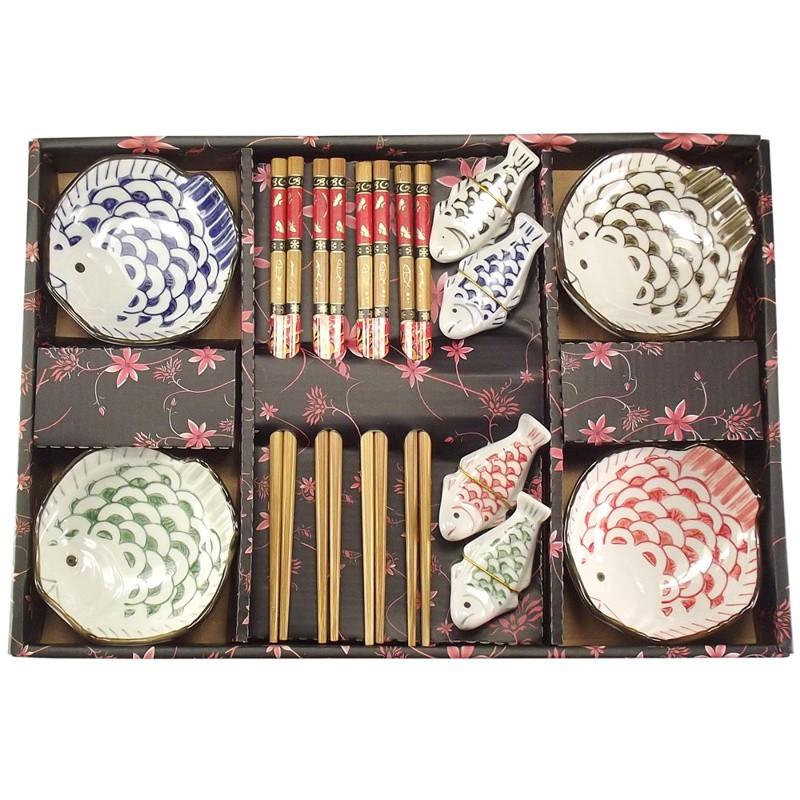 Jogo de Sushi Fugu 12 pç