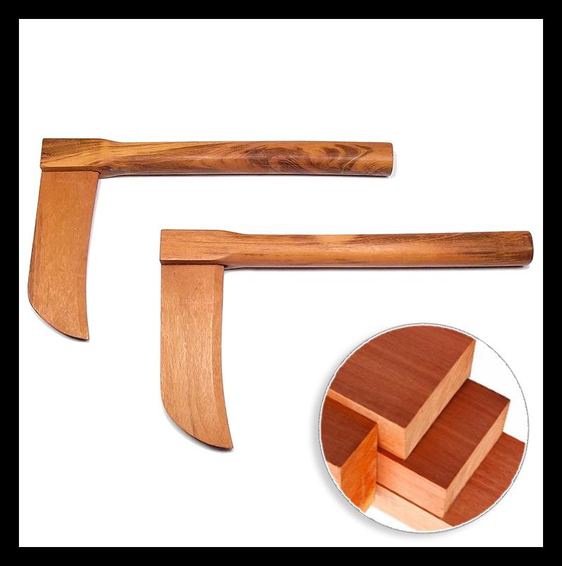 Foice Kama de madeira de grapiá 36 cm + Óleo