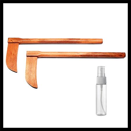 Foice Kama de madeira de grapiá 55 cm - Óleo