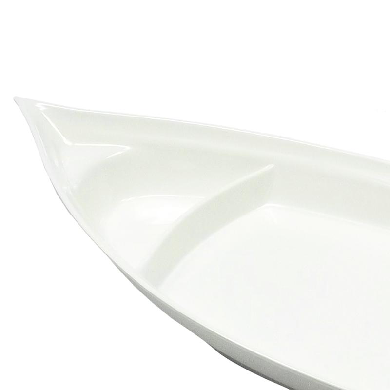 Barco Melamina Branco 41 x 18 cm
