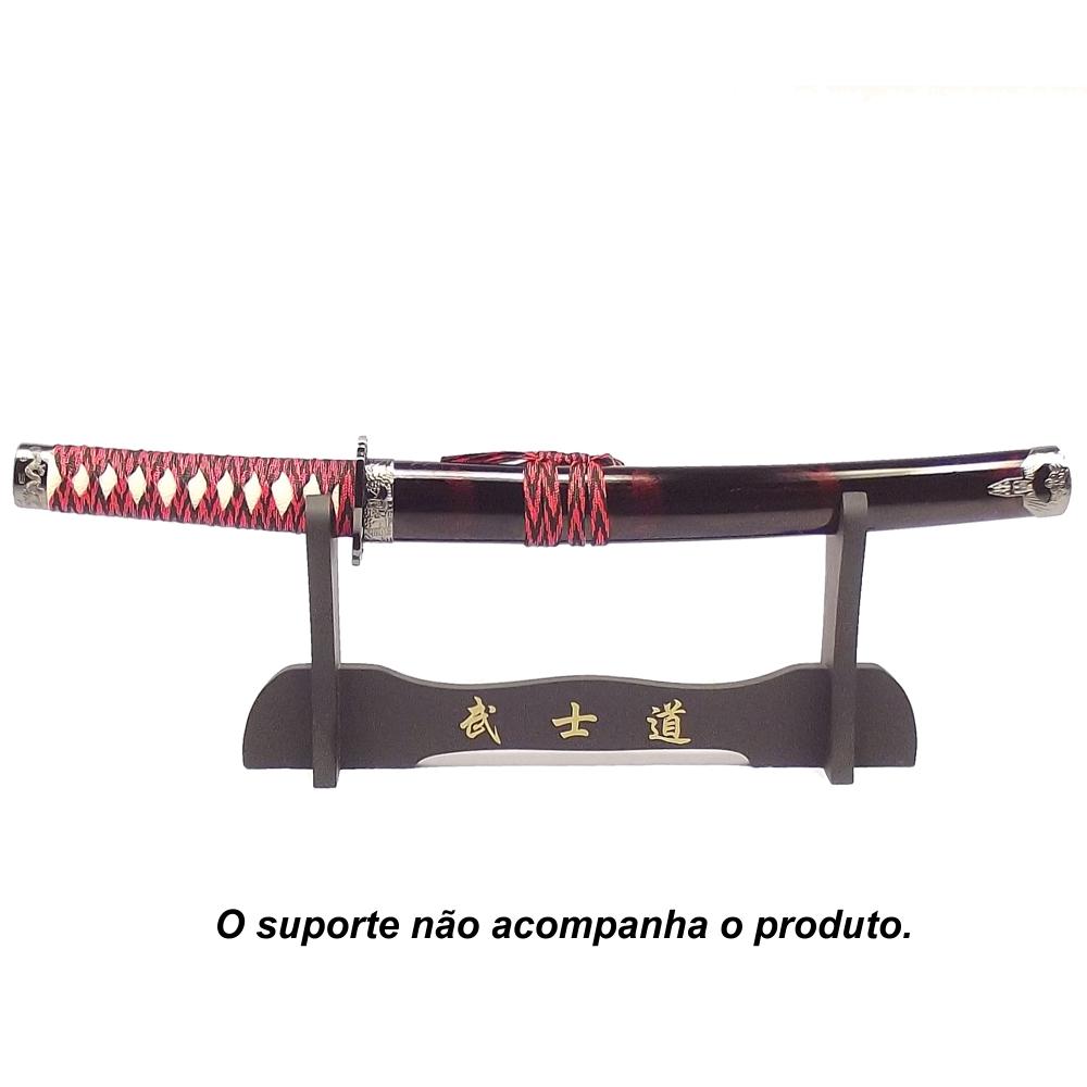 Espada Tanto Sekizen Semi Afiada + Lubrificante