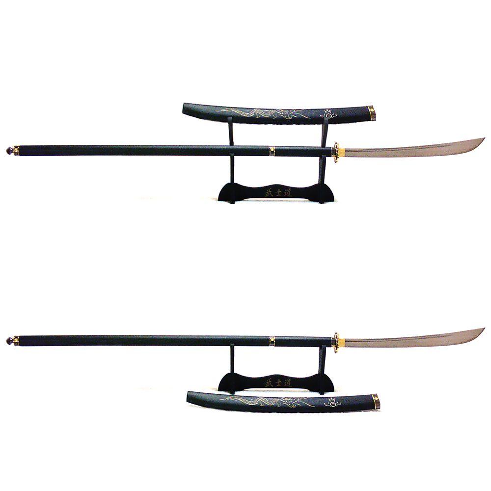 Alabarda Naginata Saikoukyuu + Suporte 3 níveis + Óleo
