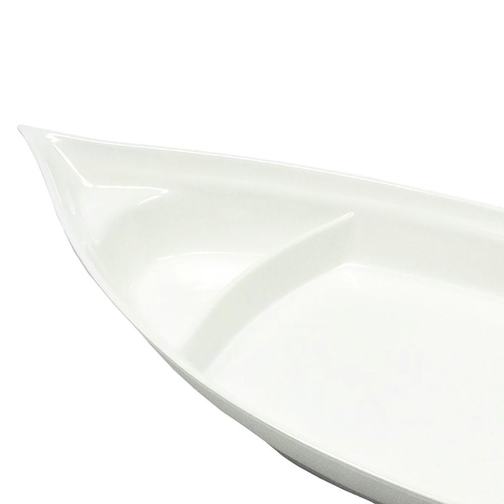 Barco de Melamina Branco 41 x 18 cm