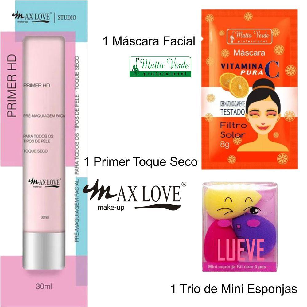 Kit de Maquiagem Make Origami Lotus Flower / Ruby Rose, Max Love, Luisance, Vivai