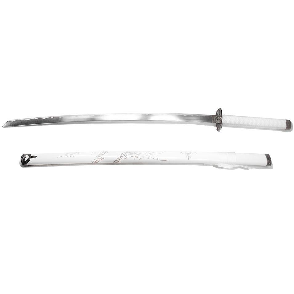 Espada Katana Daito Ryuhaku Branca + Lubrificante / Decoração, Cosplay, Colecionismo