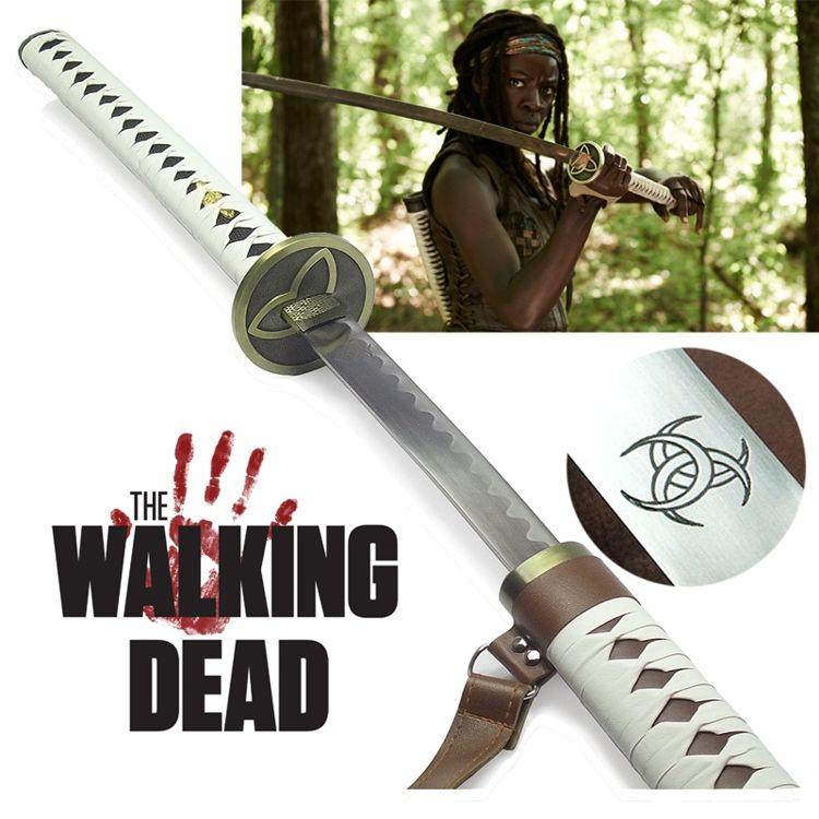 Espada Michonne Ornamental + Suporte Brinde