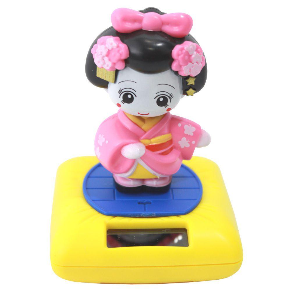 Gueixa Solar Kimono Rosa 9 cm