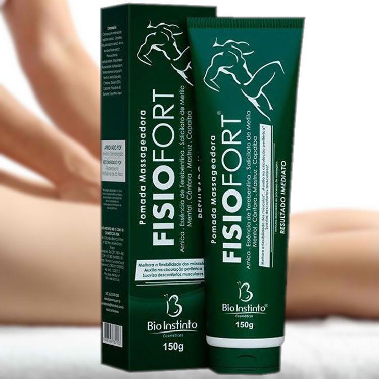 Kit Massageador Fisioterapêutico Hand + Fisiofort Bio Instinto