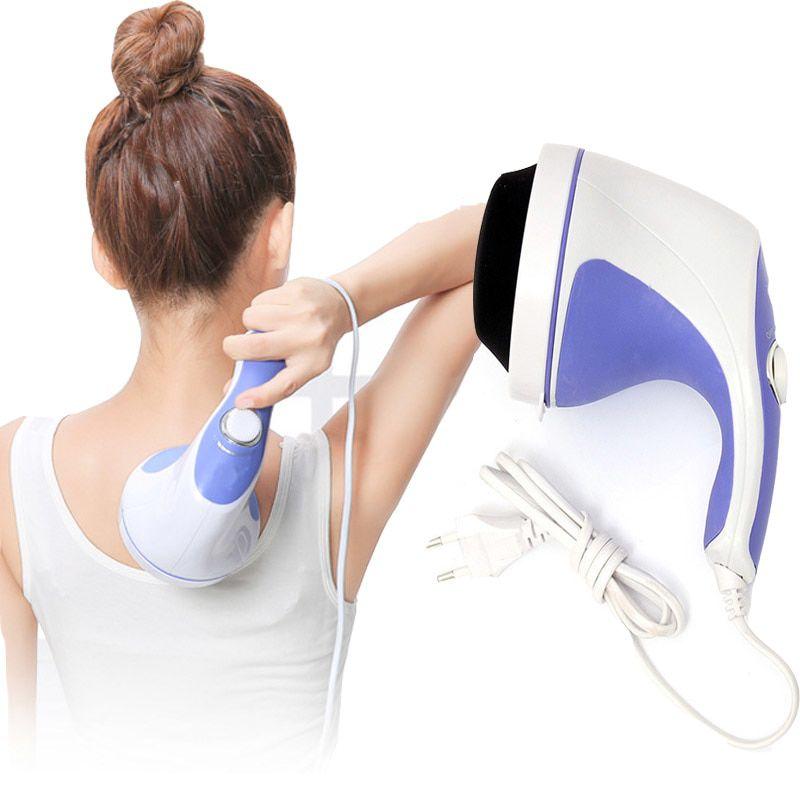 Kit Massageador Orbital Fitness 220v + Pomada Massagem Fisiofort Premium - Sensação térmica imediata, alivia dor e cansaço + Drenagem linfática p/ Celulite/Flacidez, Relax muscular