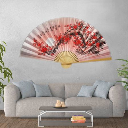 Leque de Parede 160 x 90 cm Rosa / Sakura