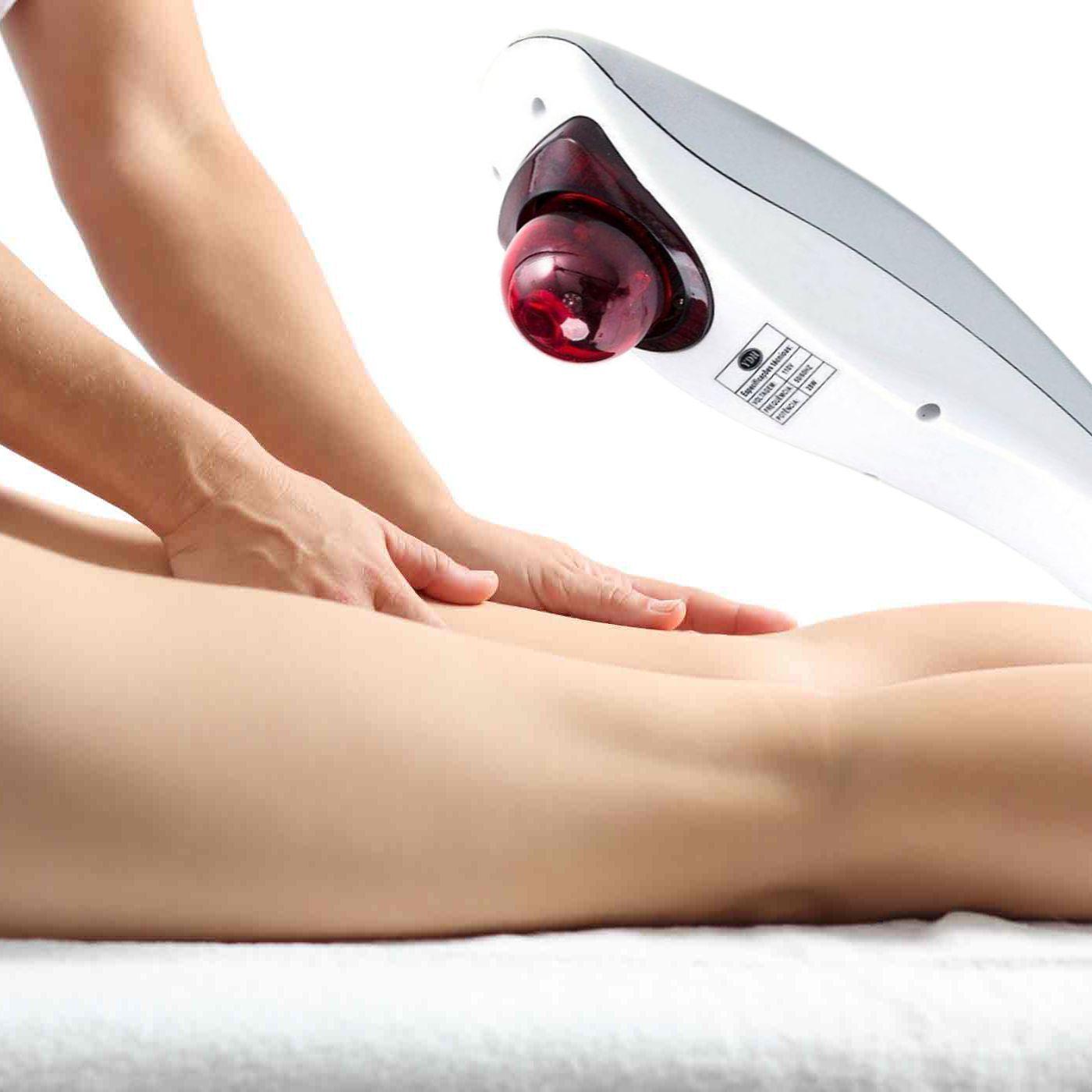 Massageador Elétrico Fisioterapêutico Hand Portátil / Relaxa Músculos e Alivia tensão e Dores - 110v