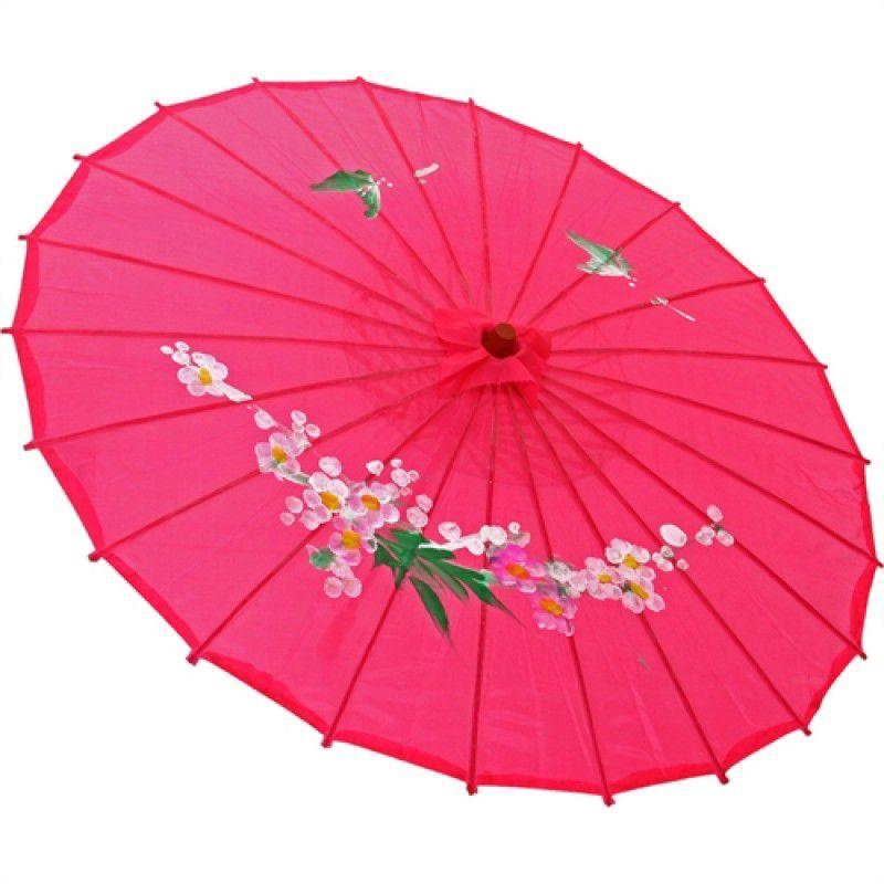 Sombrinha Oriental Decorativa Pink 85 cm