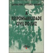 RESPONSABILIDADE CIVIL DO JUIZ, A <br> Giovanni Ettore Nanni -
