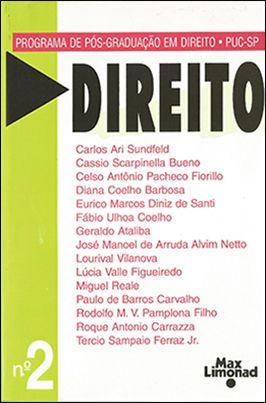 DIREITO N 2 - Publicação do Programa de Pós-Graduação PUC-SP <br> Diversos autores