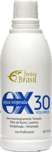 Água Oxigenada 30 volumes 100 ml  - Fonte Brasil Cosméticos