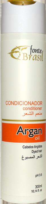 Argan Condicionador 300ml  - Fonte Brasil Cosméticos