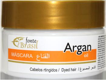 Argan Mascara 300g  - Fonte Brasil Cosméticos